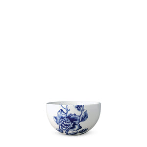 Blue and White Chinoiserie Toile Snack Bowl in Collaboration with Colonial Williamsburg
