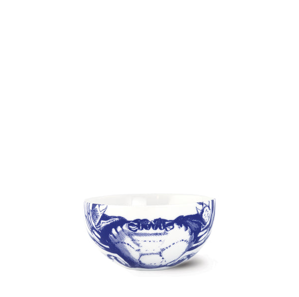 Crabs Blue Small Snack Bowl