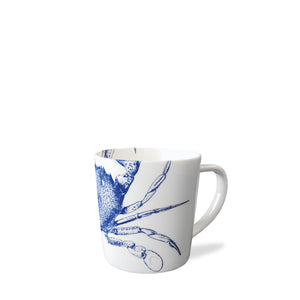 Blue Crab Wide Coffee Mug