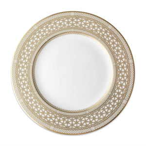 Hawthorne Gilt- Gold Dinner Plate - Caskata