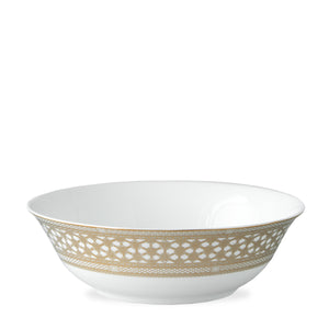 Hawthorne Gilt Gold Medium Serving Vegetable Bowl