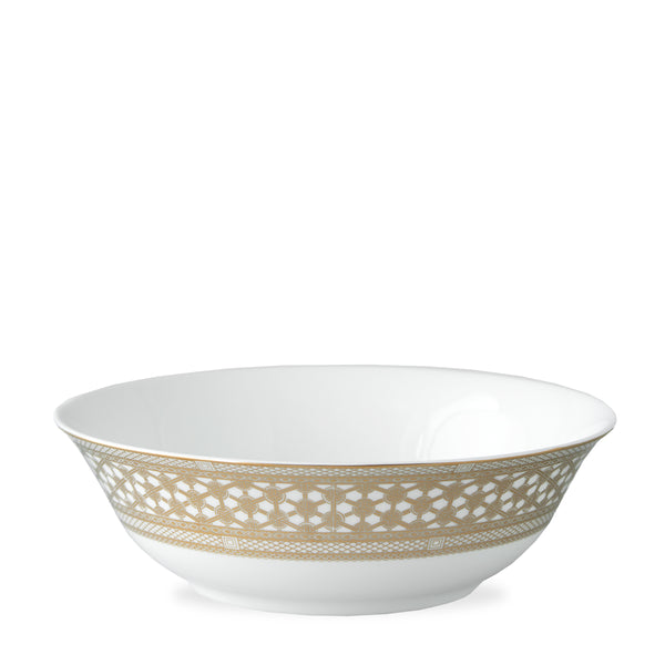 Hawthorne Gilt - Gold Serving Bowl - Caskata