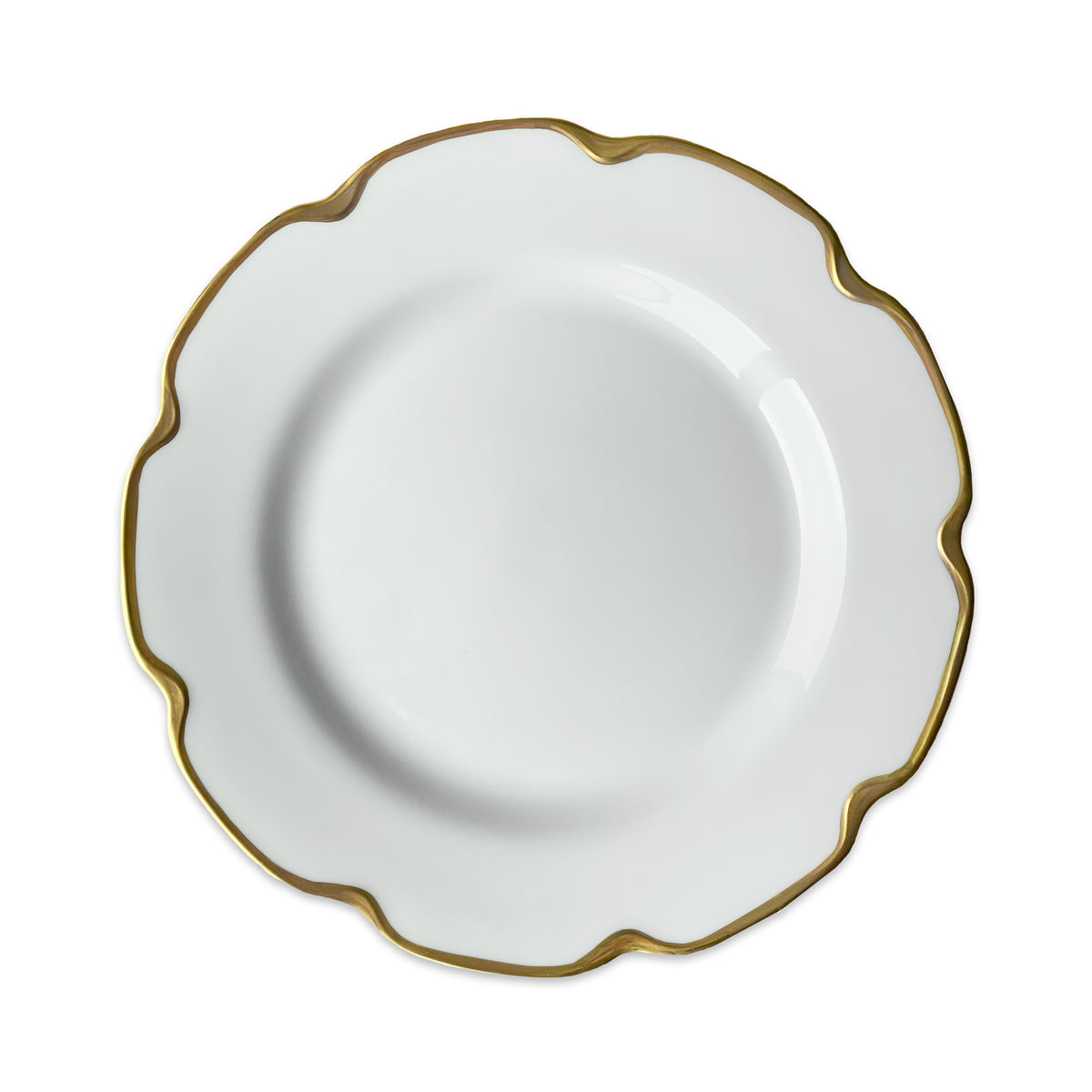 Grace Gold Luncheon or Buffet Plate - Caskata