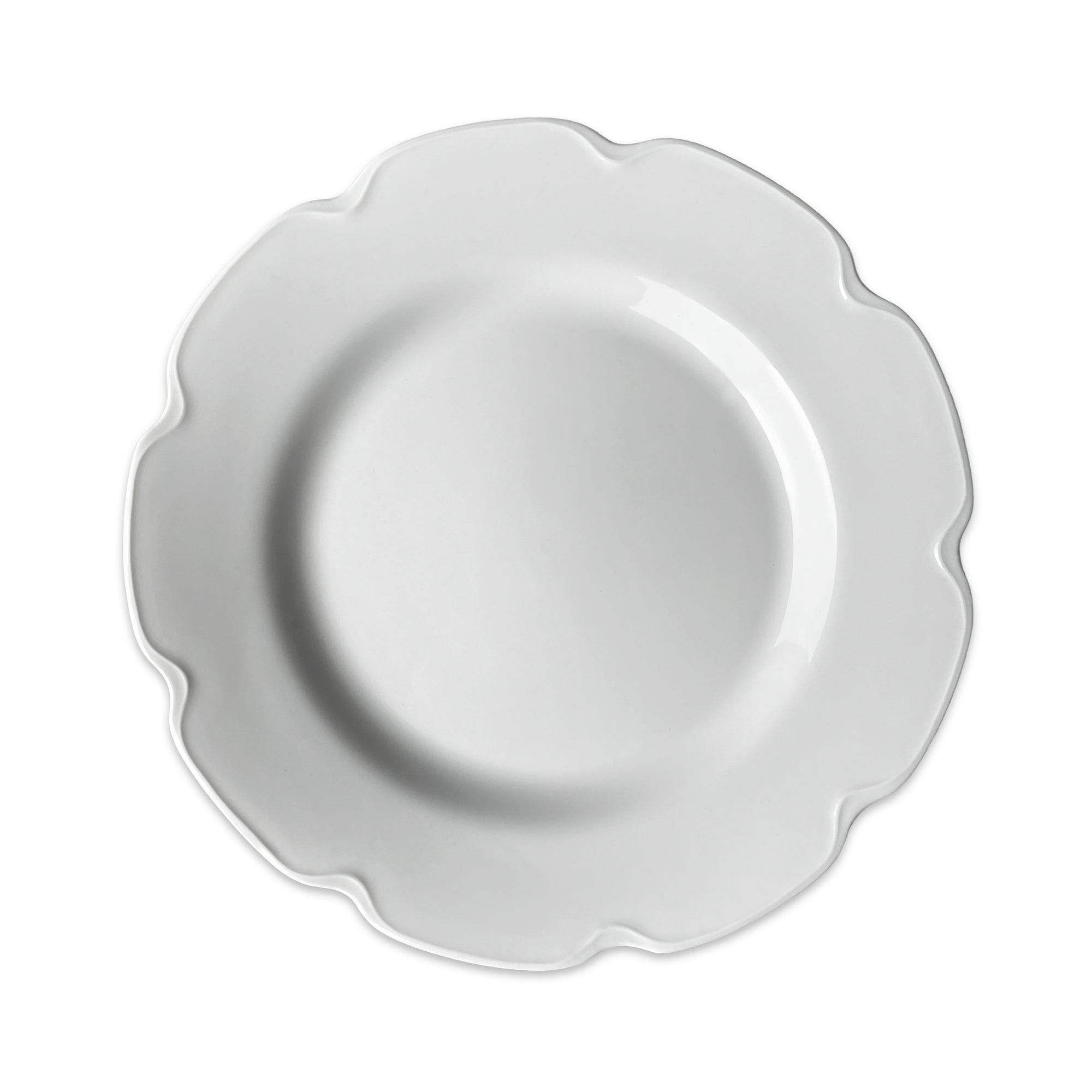 Grace White Buffet Plate - Caskata