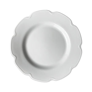 Grace White Luncheon or Buffet Plate - Caskata