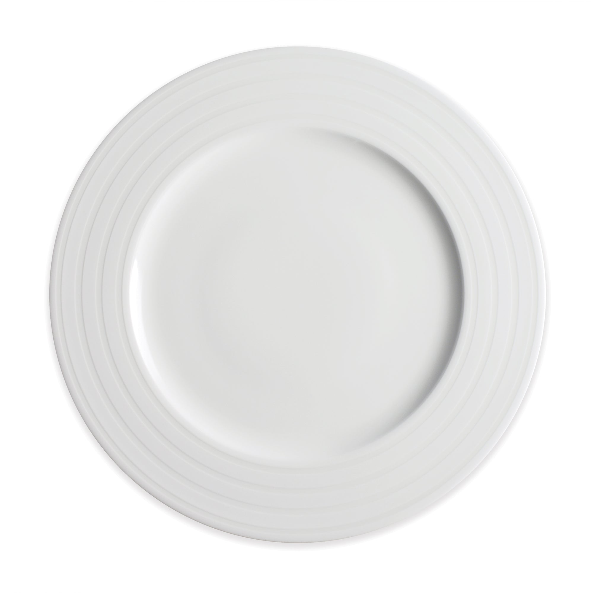 Cambridge Stripe Dinner Plate - Caskata