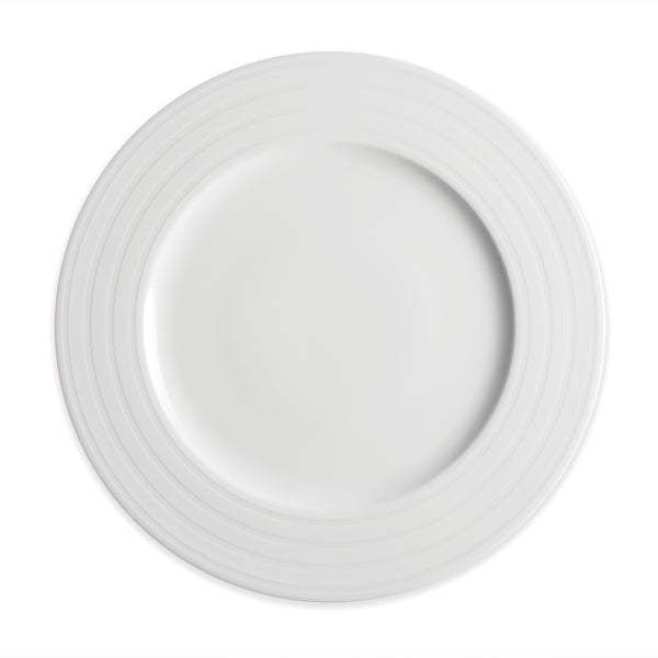 Cambridge Stripe Dinner Plate** - Caskata