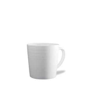 Cambridge Stripe White Wide Mug