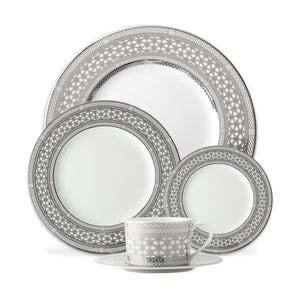Hawthorne Ice (Platinum) 5-Piece Place Setting