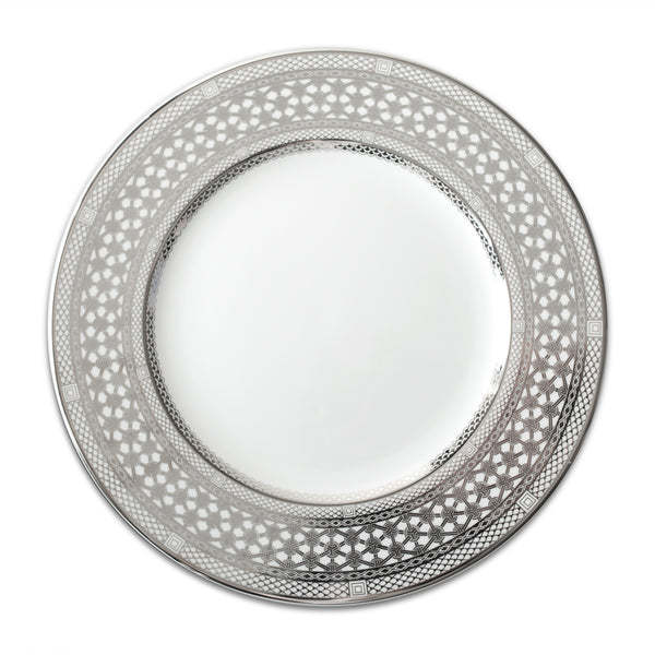 "HAWTHORNE ICE 10.75"" Bone China Dinner - PL - Caskata"