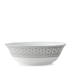 Hawthorne Ice (Platinum) Medium Serving Vegetable Bowl