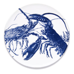 Blue Lobster Large Oval Platter
