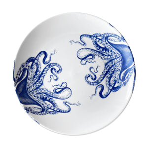 Lucy Blue Coupe Dinner Plate - Caskata