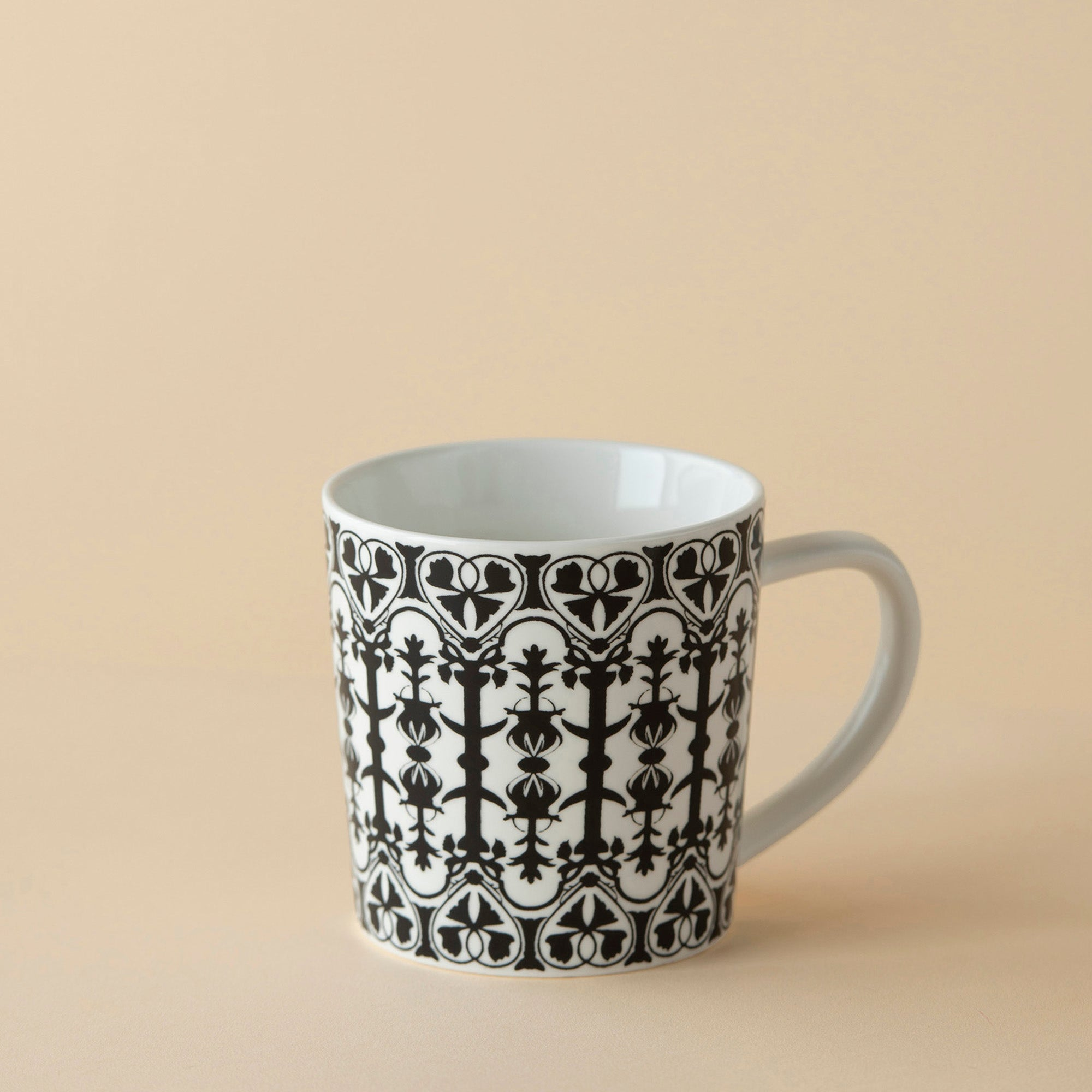 Casablanca 14oz Wide Mug - Black - Caskata