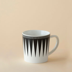 Marrakech 14oz Wide Mug - Black - Caskata