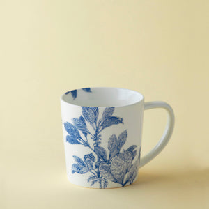Arbor Blue Floral Coffee Tea Mug