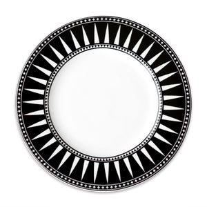Marrakech Black Dinner Plate