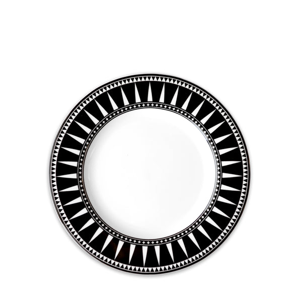 Marrakech Black Salad Plate