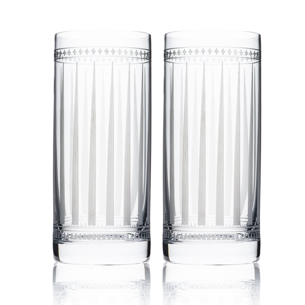 Marrakech Tall Drink Glasses Set of 2 - Caskata