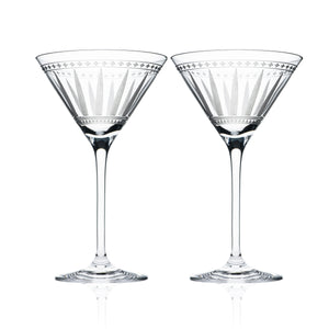 Marrakech Martini Glasses S/2 - Caskata