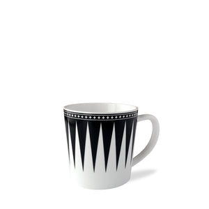 Marrakech Black Wide Coffee Mug