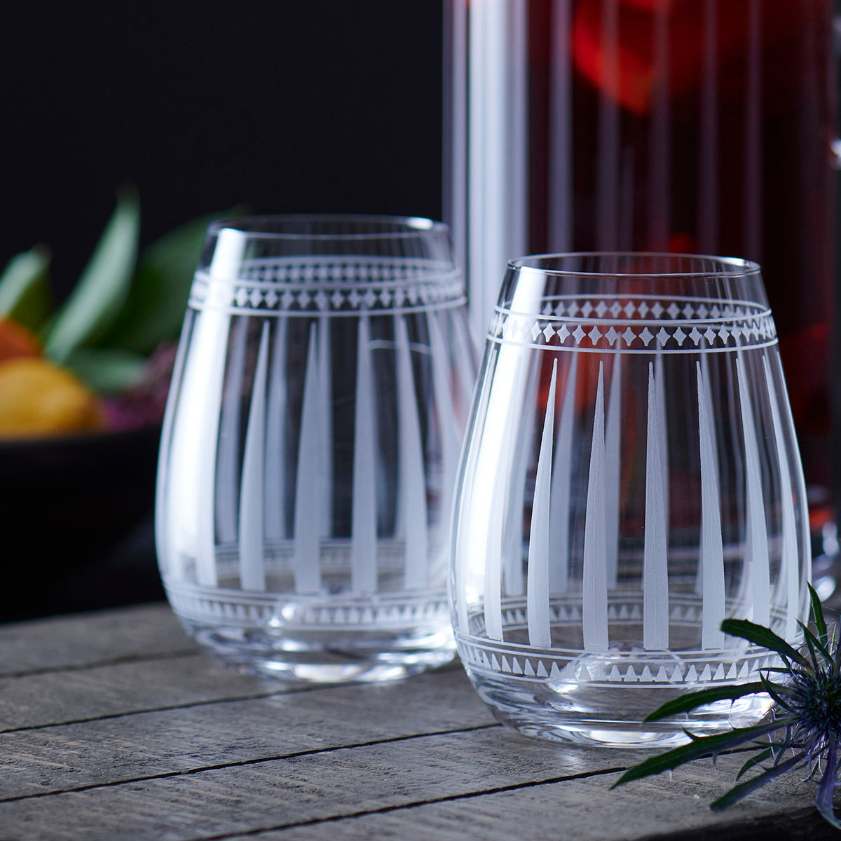 Marrakech Stemless Wine s/2 - Caskata