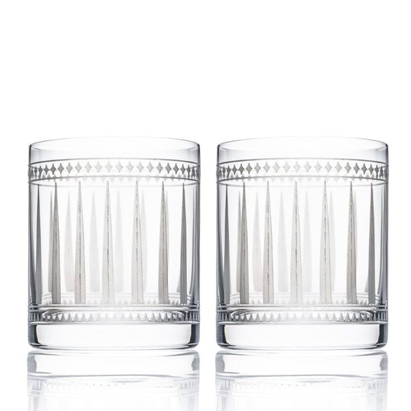 Marrakech Short Drink Glasses Set of 2 - Caskata