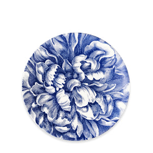 Peony Blue Limited Edition Coupe Salad Plate