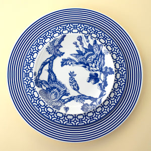 Newport Blue Dinner and Salad Plate with Arcadia Blue Appetizer Plate
