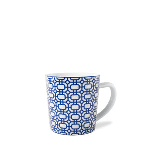 Newport Blue Wide Coffee Mug