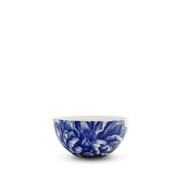 Peony Blue Small Snack Bowl