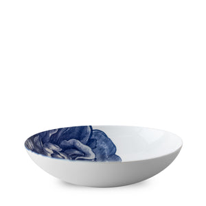Peony Blue Coupe Soup or Pasta Bowl in Blue and White