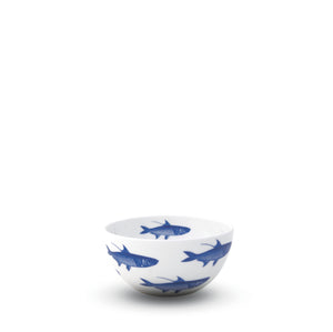 School of Fish Blue Small Snack Bowl