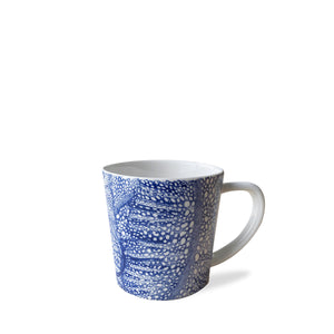 "Sea Fan 4"" Wide Mug - BLUE - Caskata"