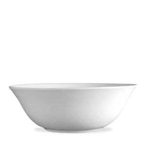 Spring White on White Serving Bowl - Caskata