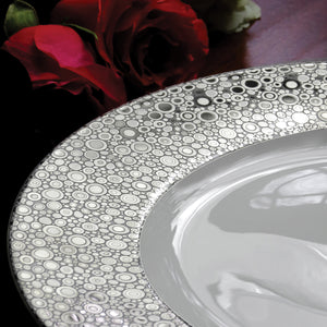 Ellington Shine Platinum Bone China Charger Plate
