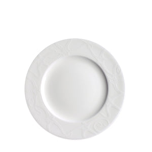Starfish White Salad Plate