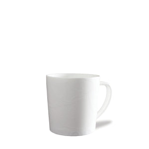 Starfish White Wide Coffee Mug
