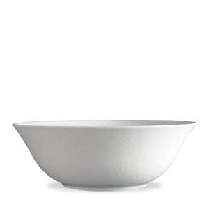 Summer Floral White Medium Serving Vegetable Bowl
