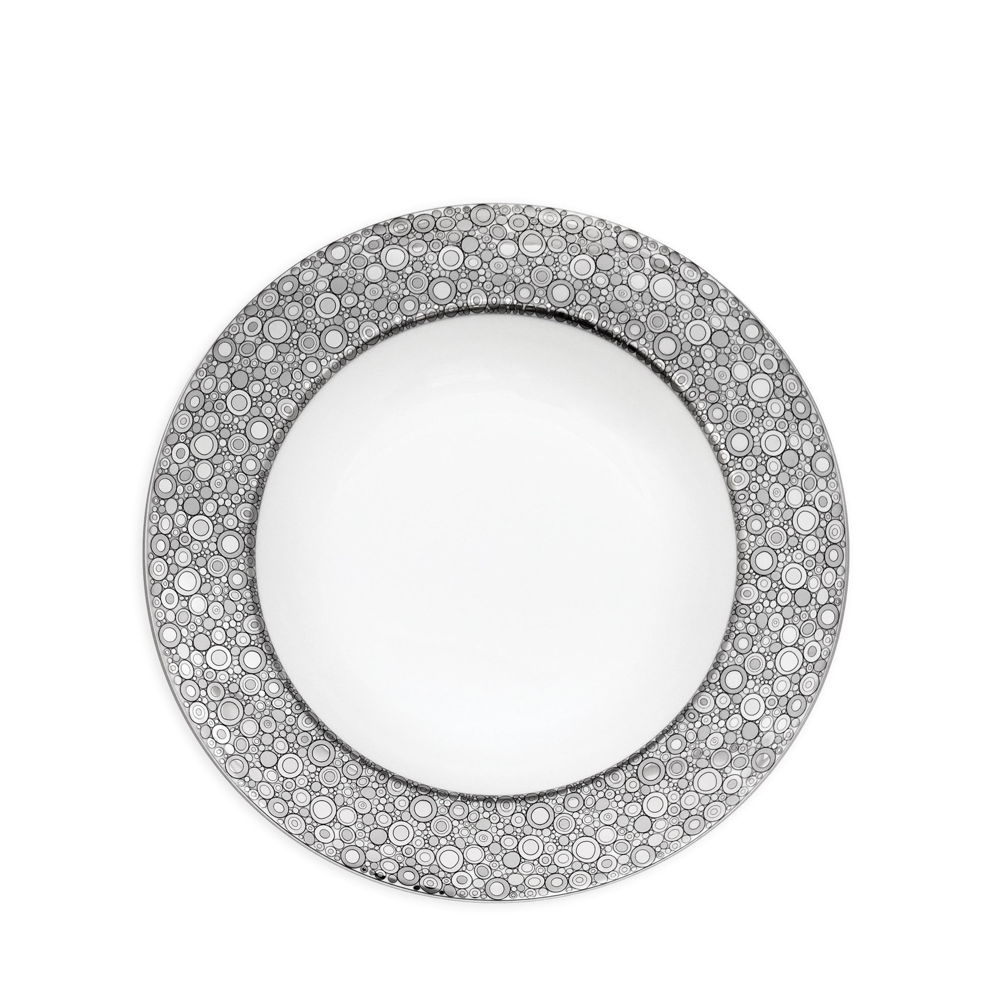 Ellington Shine Platinum Rimmed Soup Bowl - Caskata
