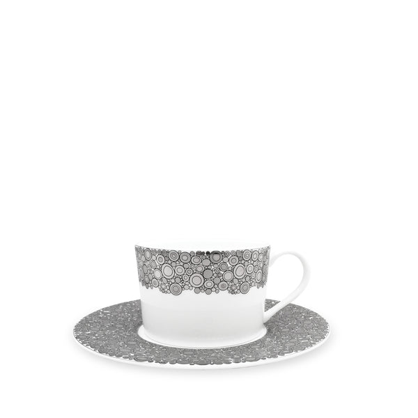 Ellington Shine (Platinum) Tea Cup and Saucer