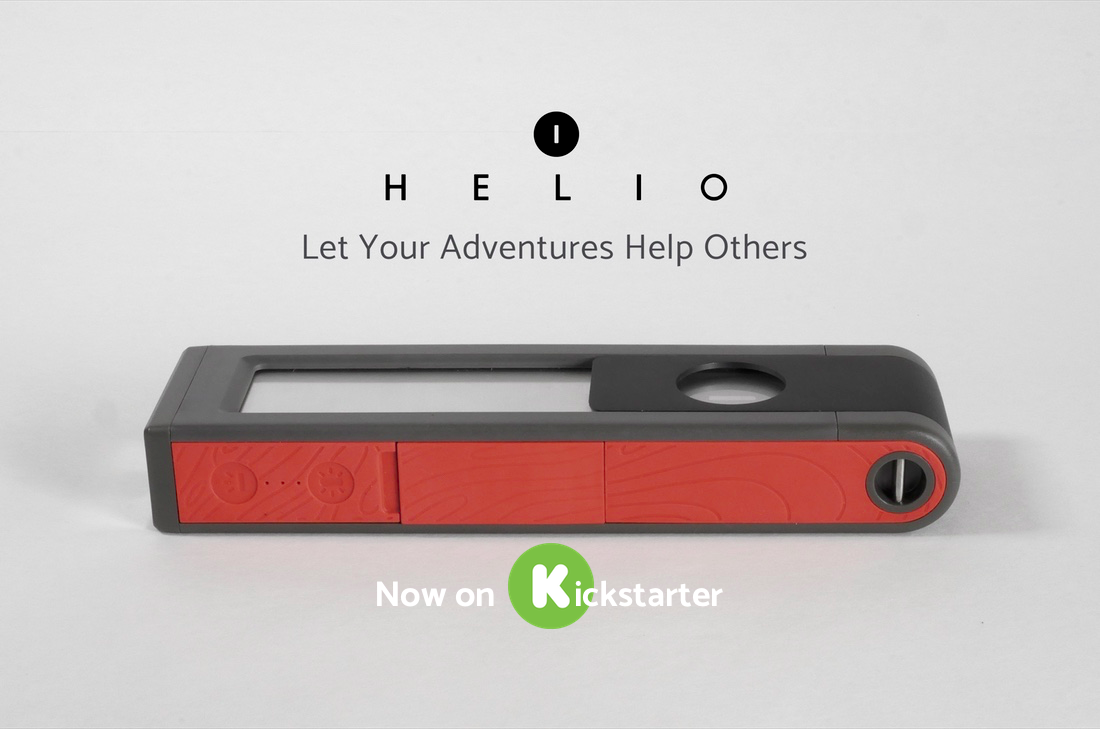 HELIO Solar Light & Powerbank on Kickstarter