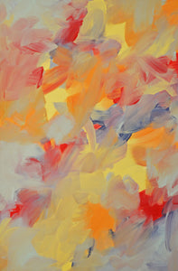 """Blazing Fire"" 24"" x 36"" Sold"