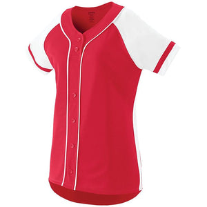 Ladies Fan Baseball Jersey