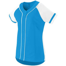 Load image into Gallery viewer, Girls Fan Baseball Jersey