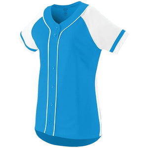 Girls Fan Baseball Jersey