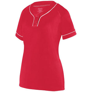 Ladies Stadium Two-Button Athletic Jersey
