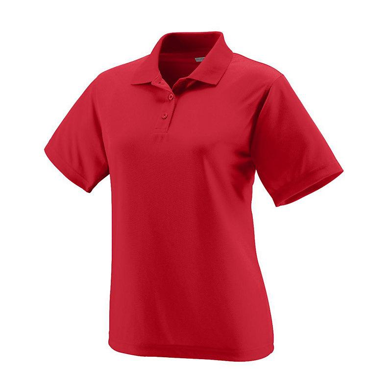 Ladies Wicking Mesh Athletic Polo