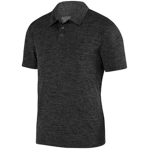 Nebula Black Heather Polo