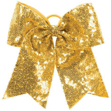 Load image into Gallery viewer, Sequin Cheer Hair Bow